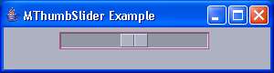Thumb Slider Example 1