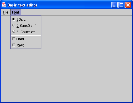 CheckBox Button « Swing JFC « Java