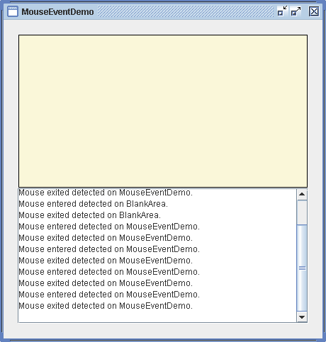 Move Shape with mouse : Mouse « Event « Java