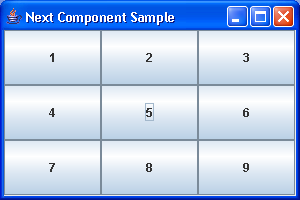 Focus Next Component Sample