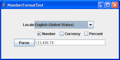 This program demonstrates formatting numbers under various locales.