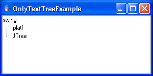 Only Text Tree Example