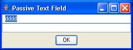 Passive TextField 3