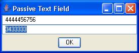 Passive TextField 1