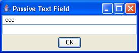 Passive TextField 2