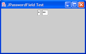 Create Password field