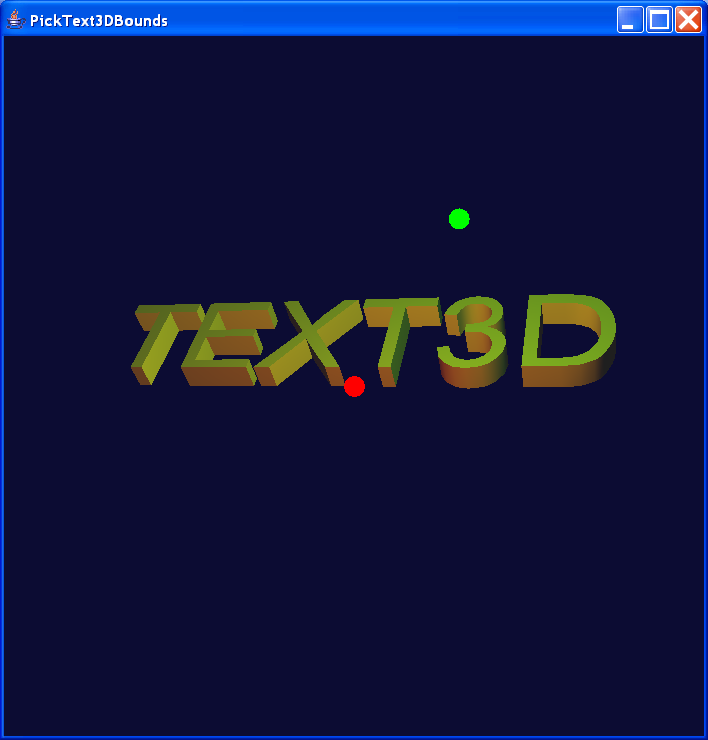 Text3D Bounds