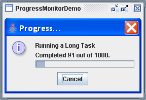 ProgressMonitor Demo