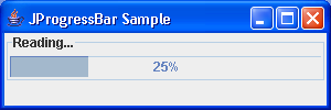 Progress bar Sample
