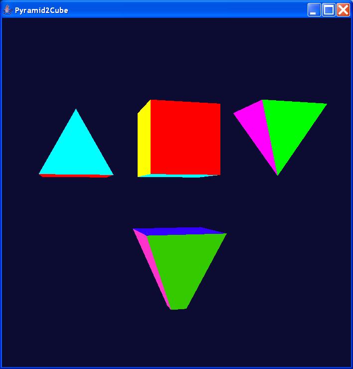 Pyramid 2 Cube