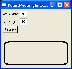 Draw Round Rectangle