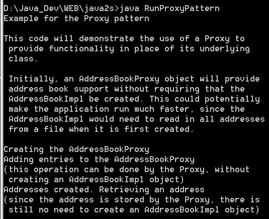 Proxy Pattern 2
