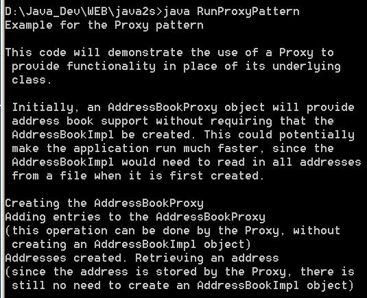 Proxy Pattern 2