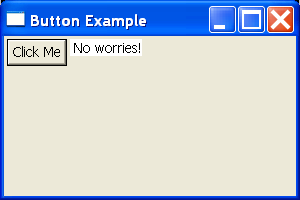 SWT Button Example Demo