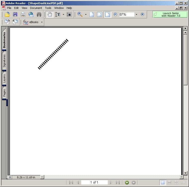 Drawing Lines In Java Gui : Shape dashline line « pdf rtf java
