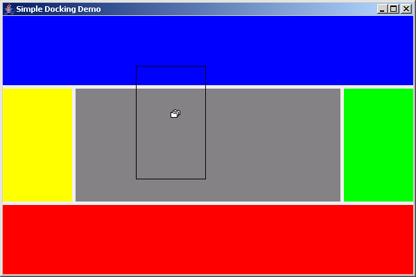 Simple demo for dockable windows