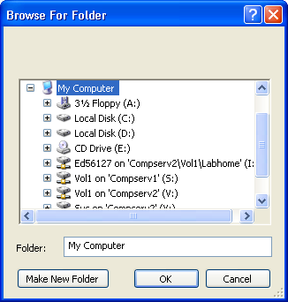 Simple File Browser in SWT Table