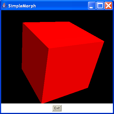 This uses the class SimpleMorphBehaviour to animate