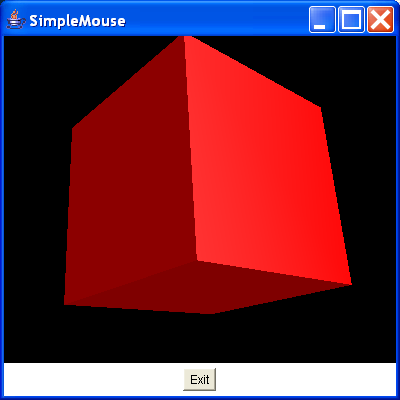 Demonstrate the use of the mouse utility classes