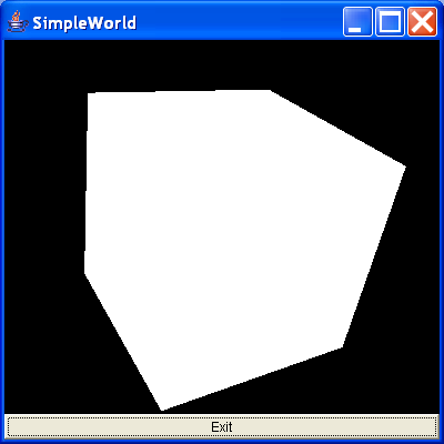 This is our first simple program that creates a cube