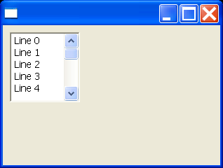 Text example snippet: set the selection (i-beam)