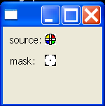 Cursor: create a color cursor from a source and a mask