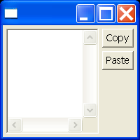 Copy and paste data with the clipboard