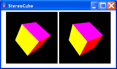 Stereo Cube