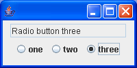 Using JRadioButtons