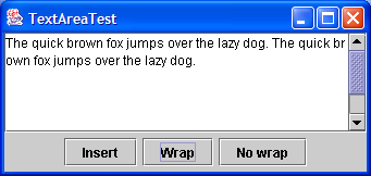 Wrap textarea