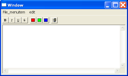 SWT Text Editor Demo