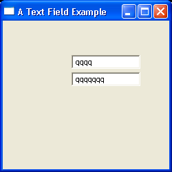 TextField Example 2