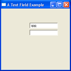 TextField Example 5