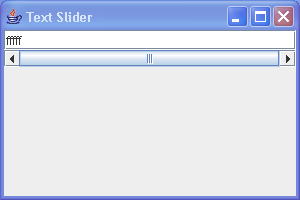 Text Slider
