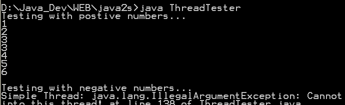 Java new feature: threading