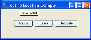 ToolTip Location Example