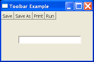 SWT Toolbar Demo
