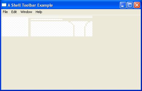 Toolbar Shell Example