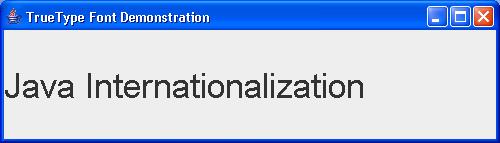 Unicode: TrueType Font Test