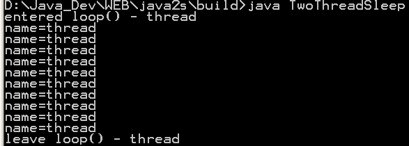 visual suspend and resume thread status 171 threads 171 java