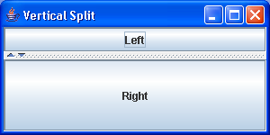 SplitPane: VerticalSplit