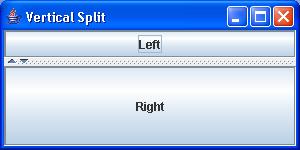 SplitPane: VerticalSplit
