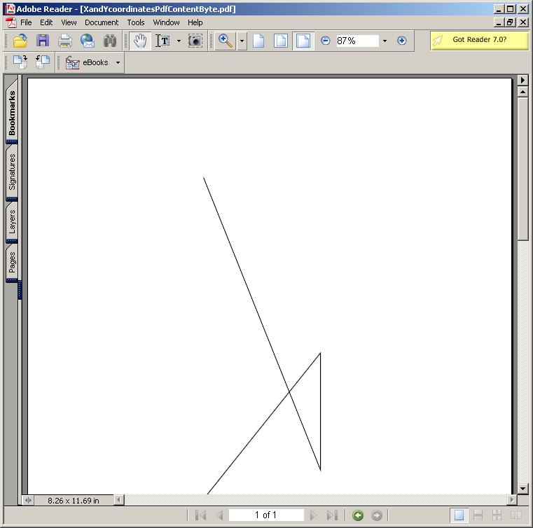 X, Y coordinates