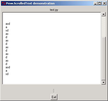 Load text file into Pmw ScrolledText
