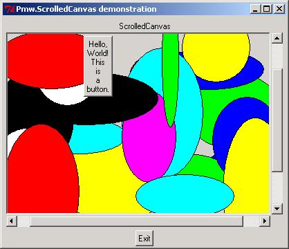 Pmw ScrolledCanvas: add a button