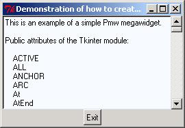 module tkinter