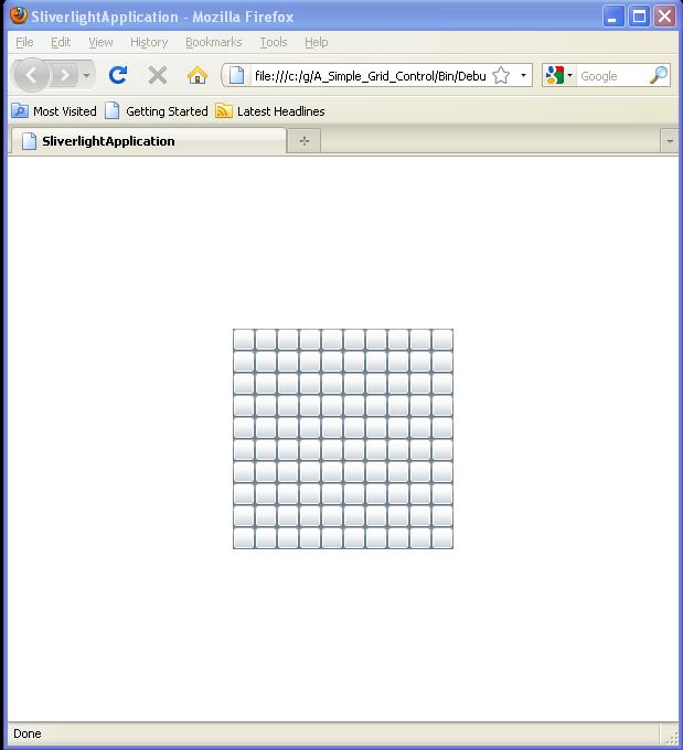 A Simple Grid Control