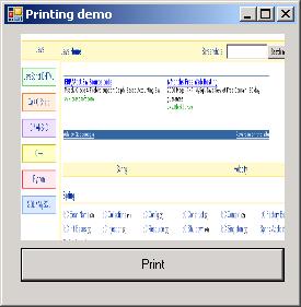 Display Print dialog
