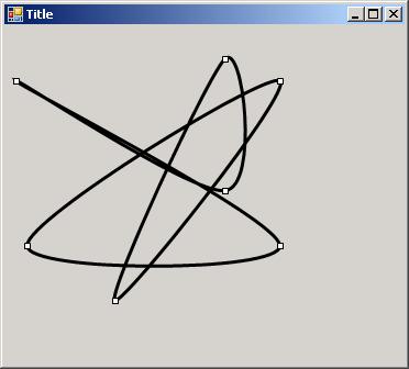 DrawClosedCurve(curve_pen, pts) Demo
