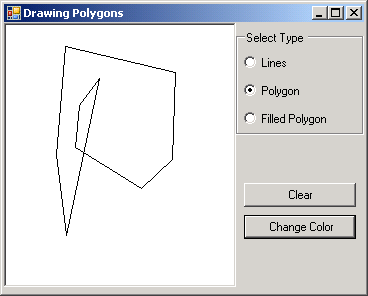Draw Ploygon